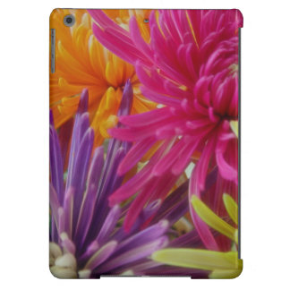 bright fun flowers abstract happy colorful summer iPad air covers