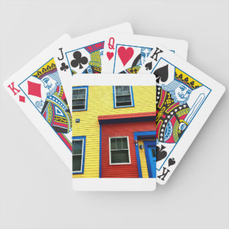Bright & Fun Houses Bicycle Playing Cards