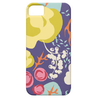 Bright Graphic Spring Flowers iPhone 5 Case