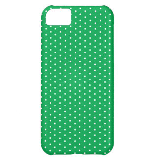 Bright Green Polka Dot iPhone iPhone 5C Case