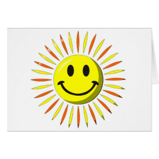 Bright Happy Smile - Smiley Face Card