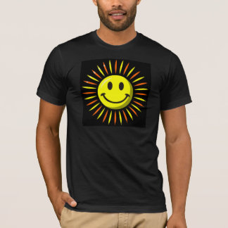Bright Happy Smile - Smiley Face T-Shirt
