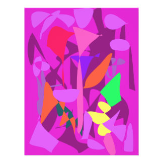 Bright Irregular Forms 4 Full Color Flyer