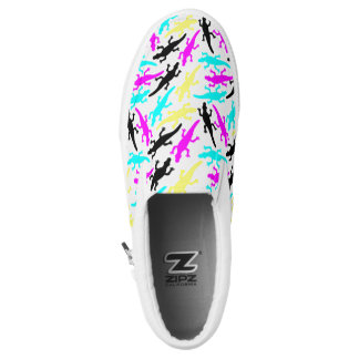 Bright Lizards Printed Shoes