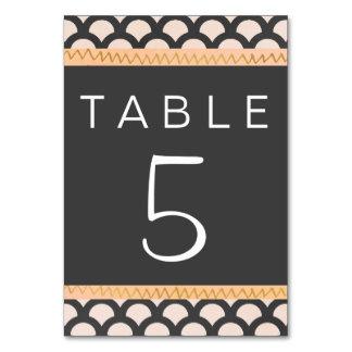 Bright N Beautiful Table Card
