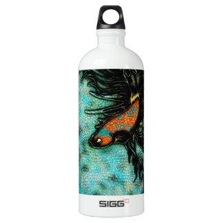 Bright Orange and Blue Beta Fish SIGG Traveller 1.0L Water Bottle