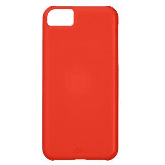 bright orange red color iPhone 5C covers