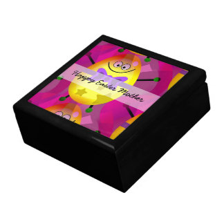 Bright Pink Easter Gift Box