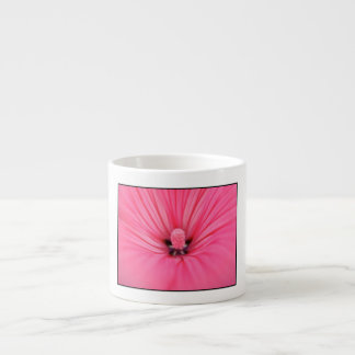Bright Pink Flower. Espresso Cup