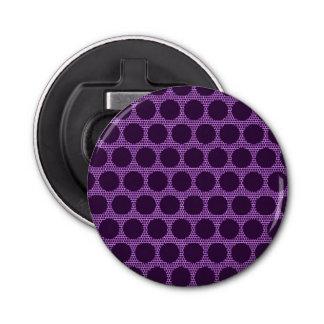 Bright Purple Dot Round Opener