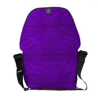 Bright Purple with Subtle Pattern Commuter Bag