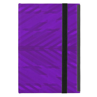 Bright Purple with Subtle Pattern Covers For iPad Mini