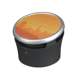 Bright San Francisco sunset. Bluetooth Speaker