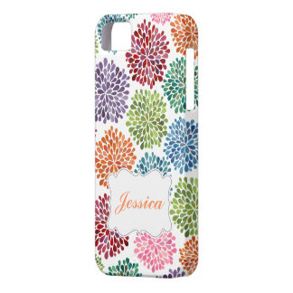 Bright Spring Flowers Name Iphone Case Mate ID