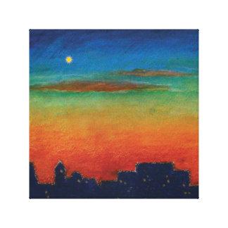 Bright Star Gallery Wrap Canvas