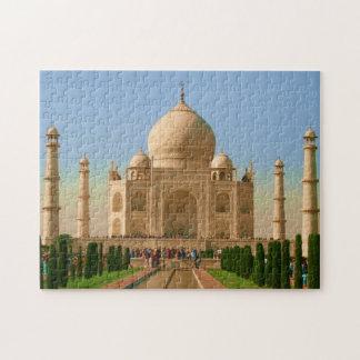 bright taj mahal jigsaw puzzle