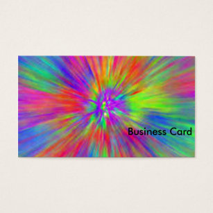 Tie dye business cards arts arts 268 tie dye business cards and card colourmoves