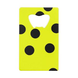 Bright Yellow Polka Dots