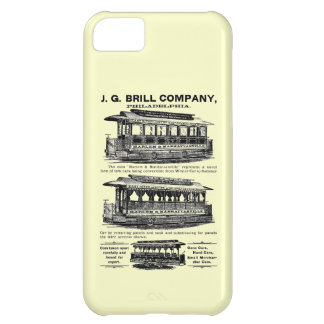 Brill Company Streetcars and Trolleys iPhone 5C Case