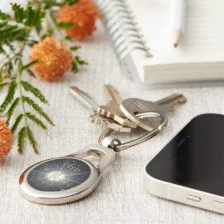 Brilliant libra key ring