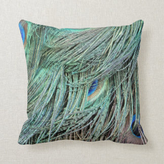 brilliantly Peafowl Spotted Feather Cushion