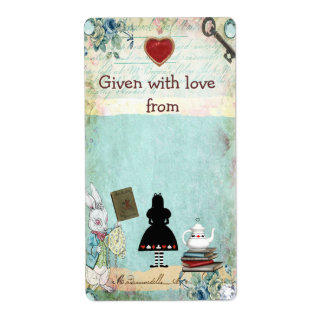 Bring a Book Alice in Wonderland Bookplates