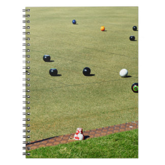 Bring_It,_Lawn_Bowls,_ Spiral Note Book