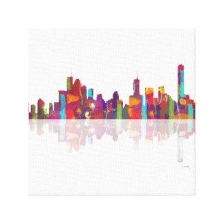 Brisbane Qld Skyline Canvas Print
