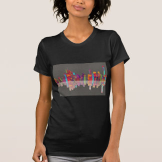 Brisbane Qld Skyline T-Shirt