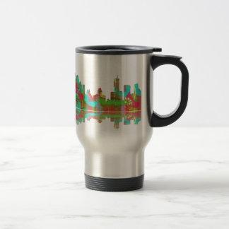 Brisbane Qld Skyline Travel Mug