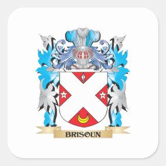 Brisoun Coat of Arms Square Sticker