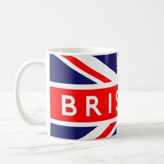 Bristol : British Flag Coffee Mug