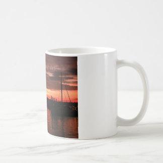 Bristol Rhode Island sunset Coffee Mug