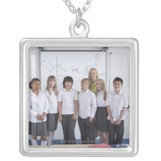Bristol, UK 11 Silver Plated Necklace