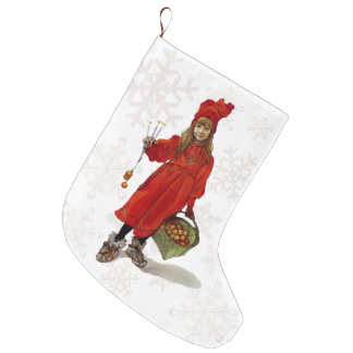 """Brita as Iduna"" Victorian Christmas Stocking"