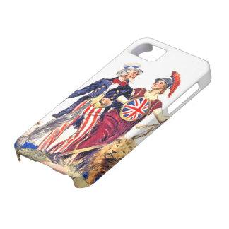 Britannia and Uncle Sam iPhone 5 Cover