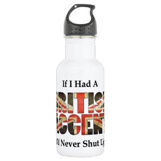 British Accent 532 Ml Water Bottle