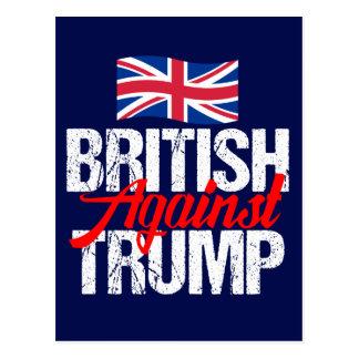 British Against Trump Postcard