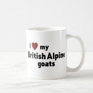 British Alpine goats Coffee Mug