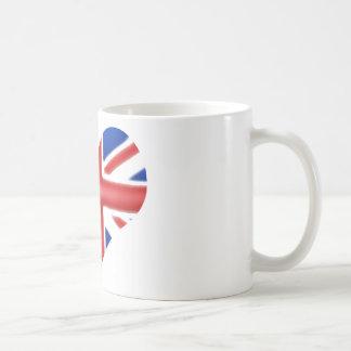 British American Heart Coffee Mug