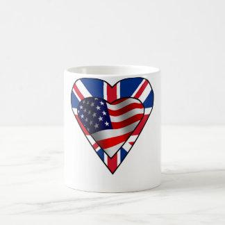 British American Love Coffee Mug