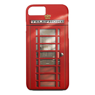 British City of London Red Phone Booth iPhone 7 iPhone 7 Case