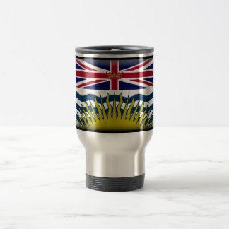 British Columbia (Canada) Flag Travel Mug
