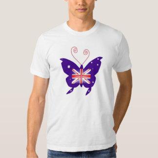 British Diva Butterfly Tee Shirt