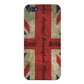 British Flag/Cities case - iPhone 4 iPhone 5 Cases