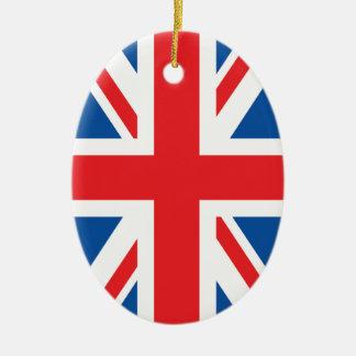 British Flag Christmas Tree Ornaments