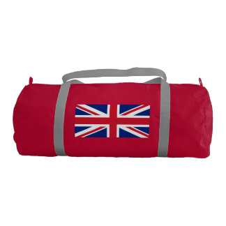 British flag gym duffel bag