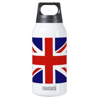 British flag insulated water bottle