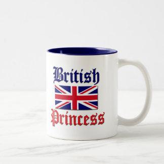 British Princess Two-Tone Coffee Mug