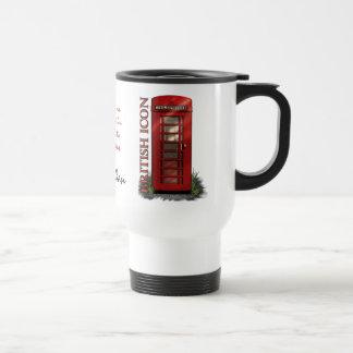 British Red Telephone Box Custom Coffee Mug